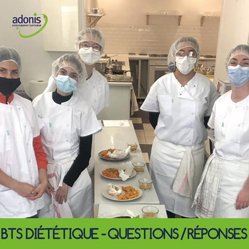 BTS diététique questions adonis