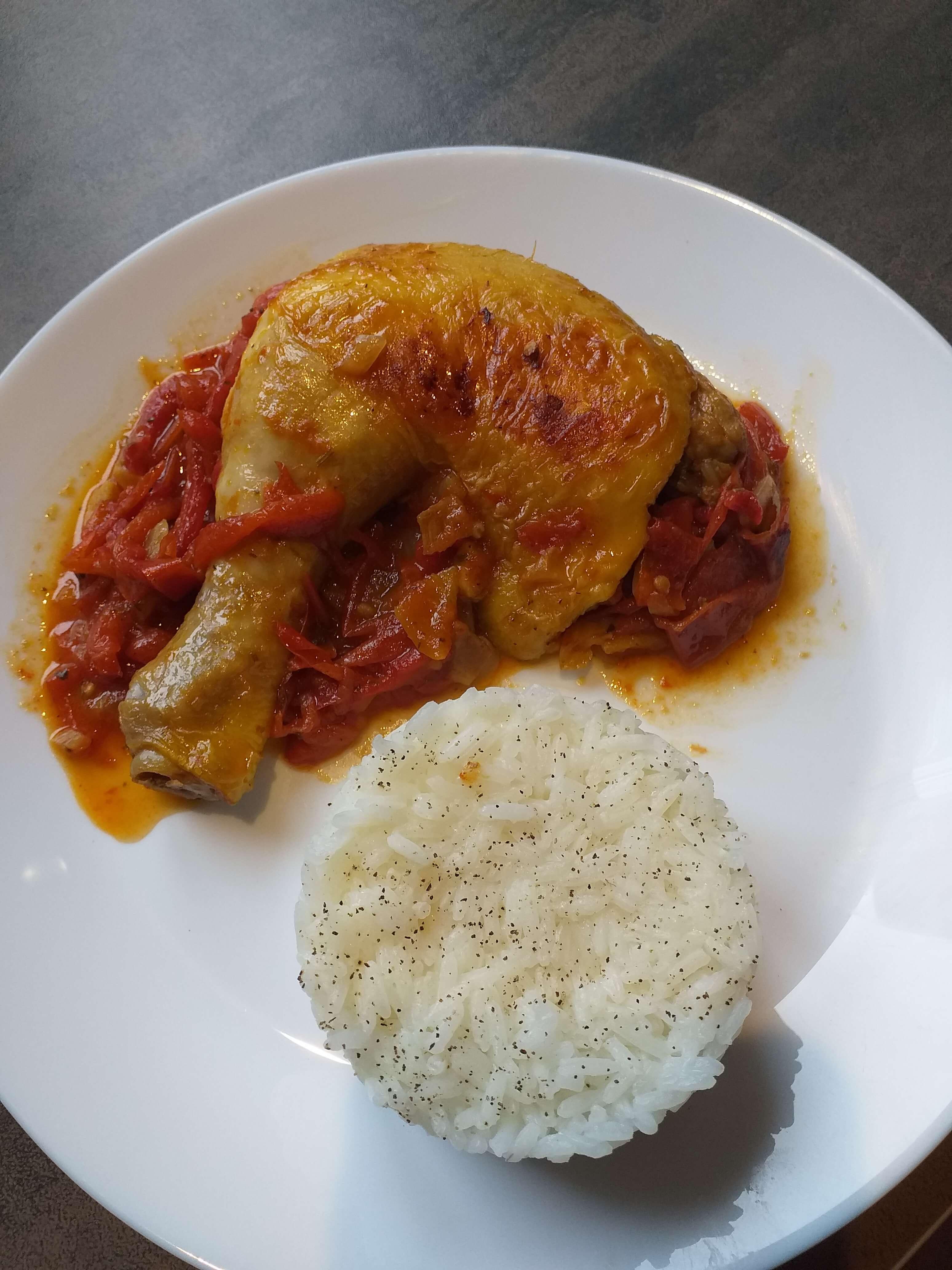 Ecole Adonis BTS diététique poulet basquaise