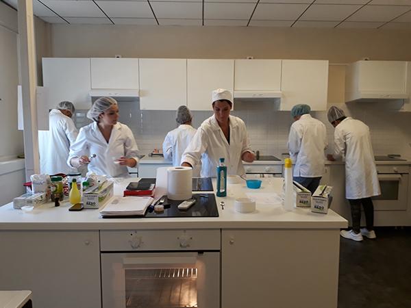 TP Techniques culinaires ADONIS