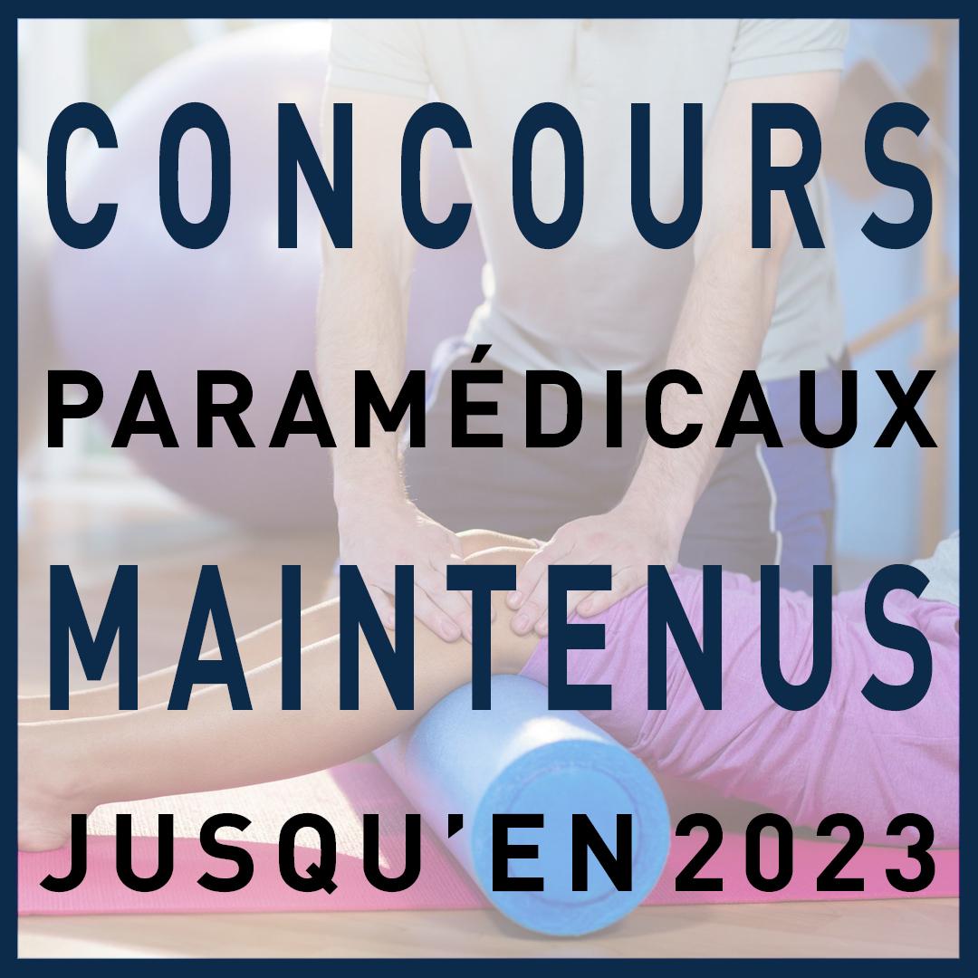 Réforme concours paramédicaux