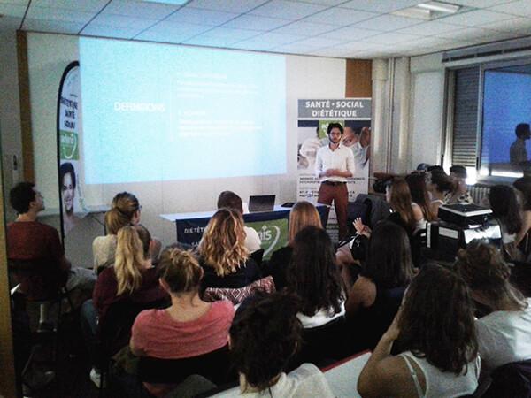 conférence Bachelor Nutrition & Santé Adonis Lyon