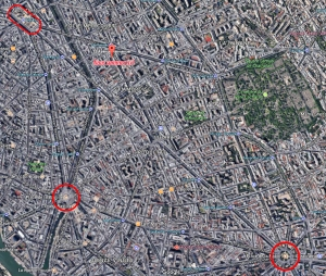 plan places paris