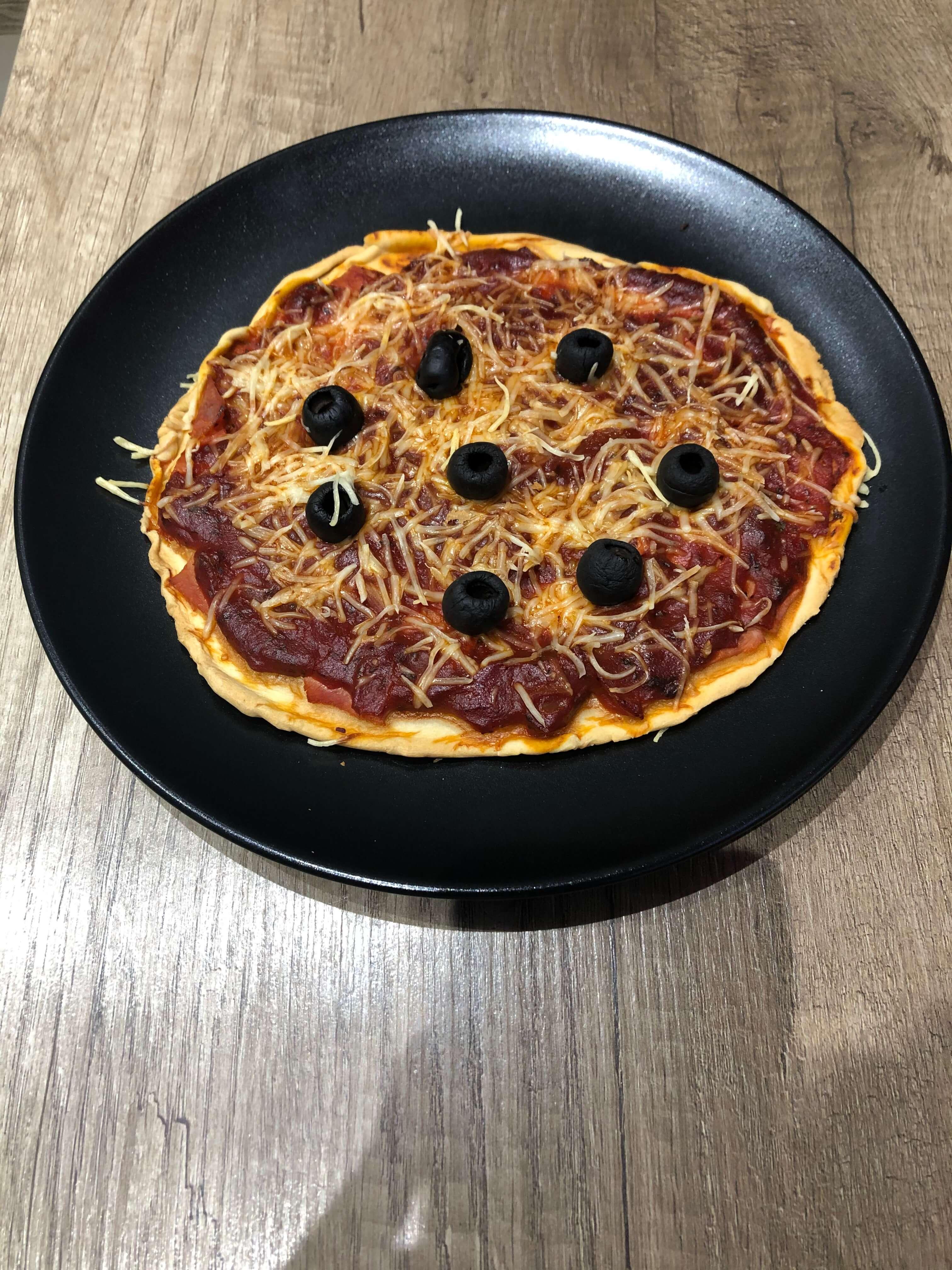 BTS diététique ADONIS pizza
