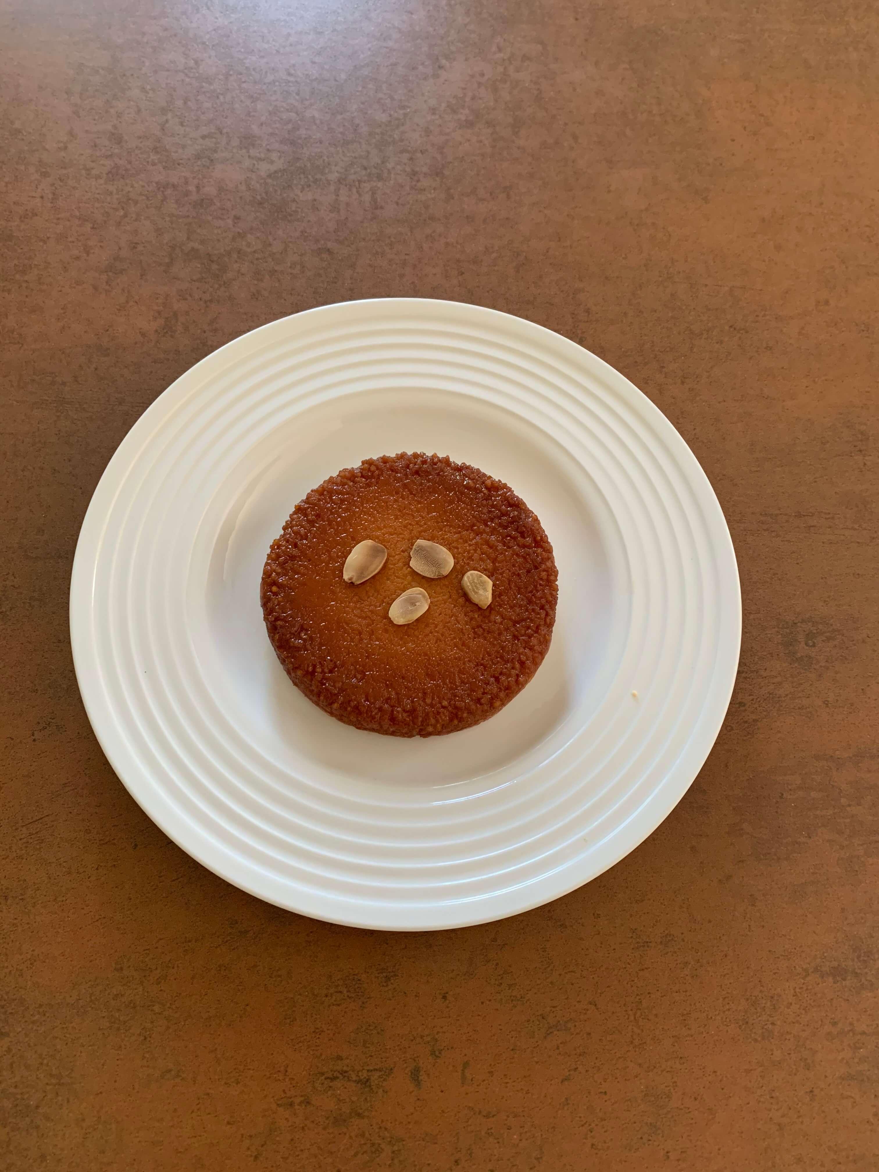 Gâteau semoule  élèves adonis BTS diététique
