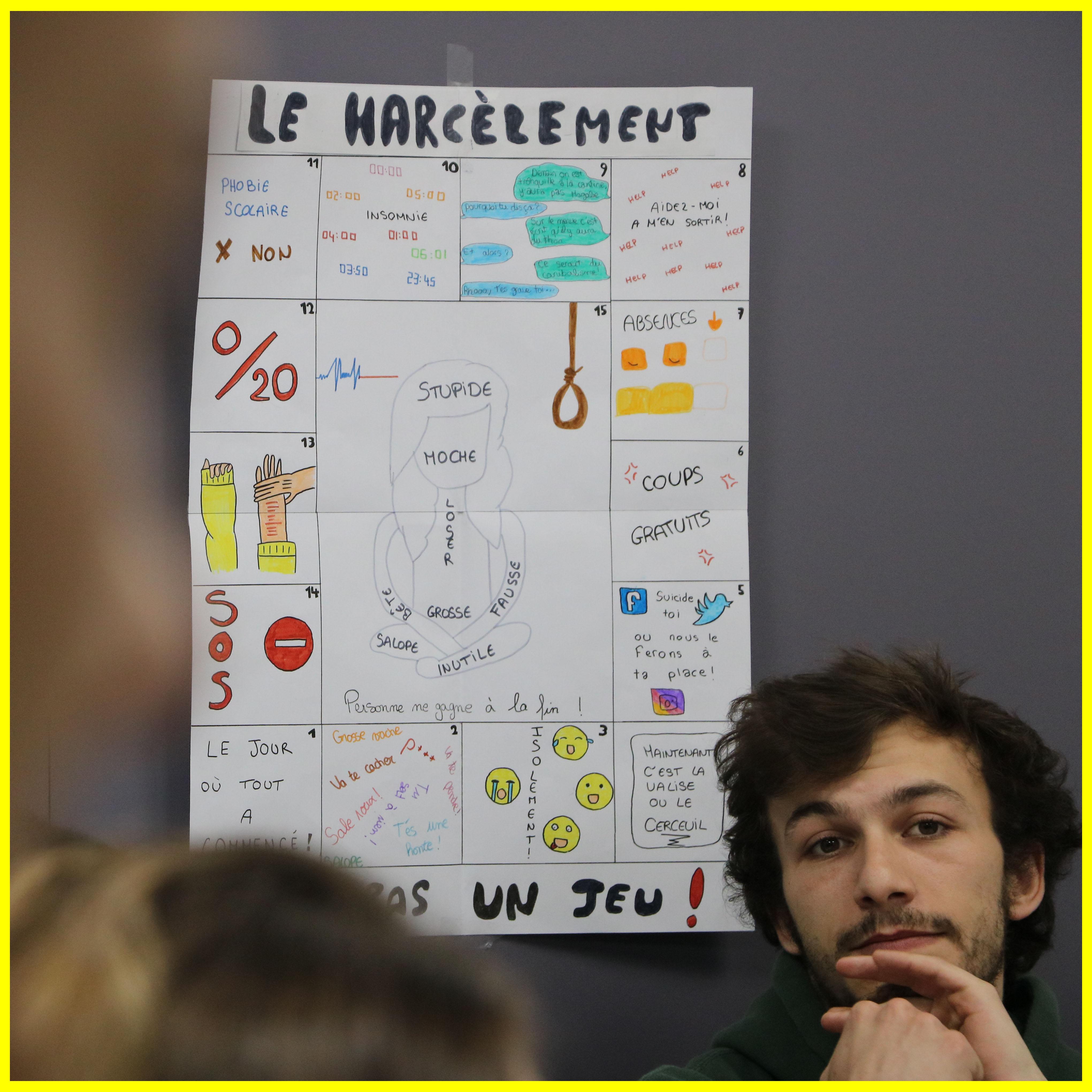 Conférence harcèlement - ESF1