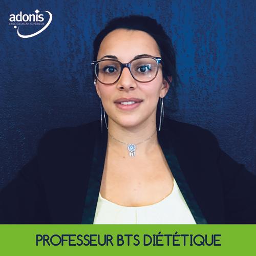prof BTS diététique Aix Adonis