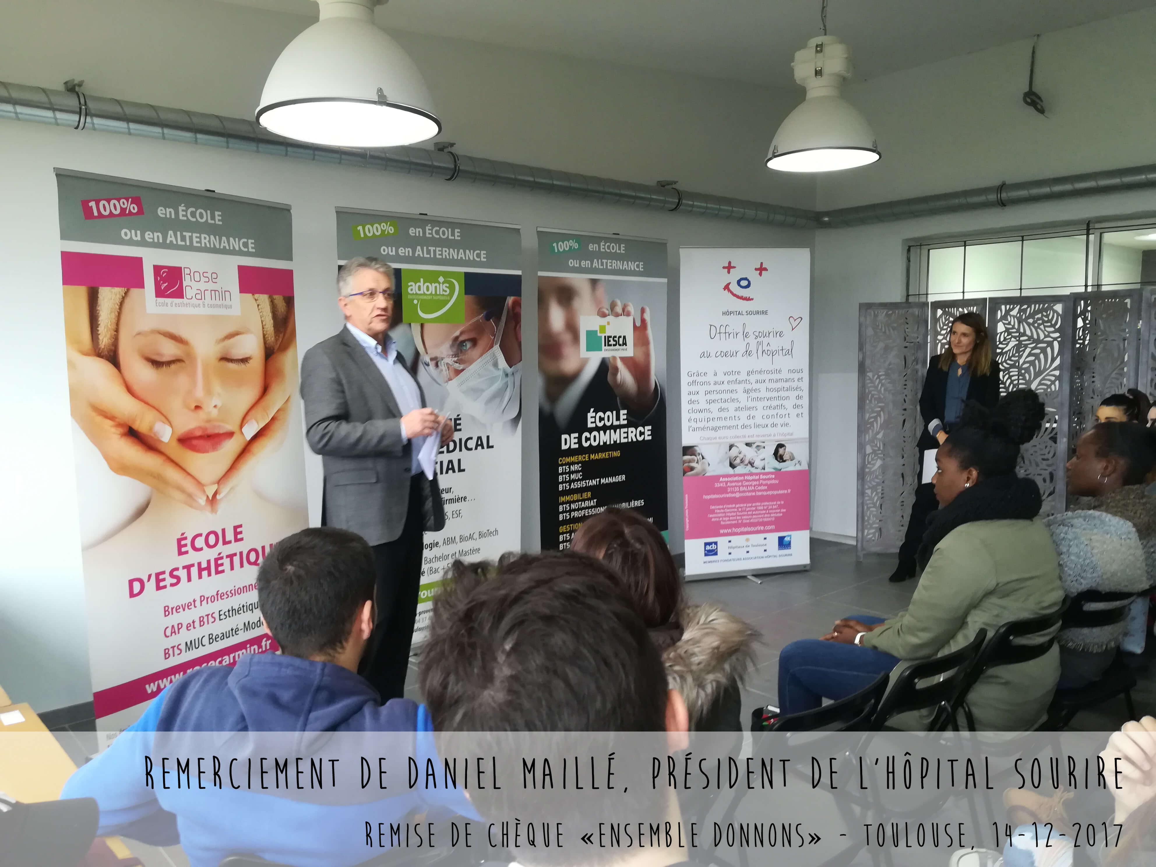 Adonis Solidaire Daniel Maillé - Hôpital Sourire