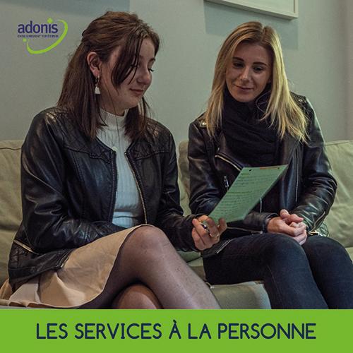 ADONIS METIERS DES SERVICES A LA PERSONNE