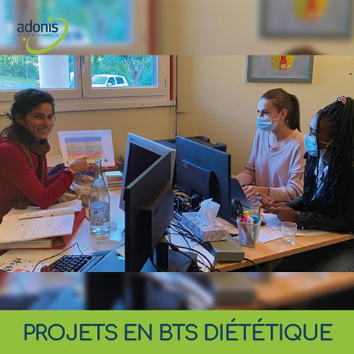Partenariat des BTS diététique avec une crèche Toulousaine