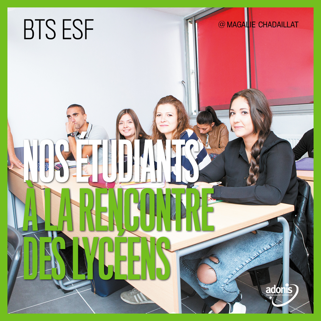 BTS ESF ADONIS ACTIONS PROFESSIONNELLES