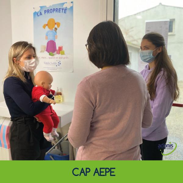épreuve EP3 CAP Accompagnant éducatif petite enfance