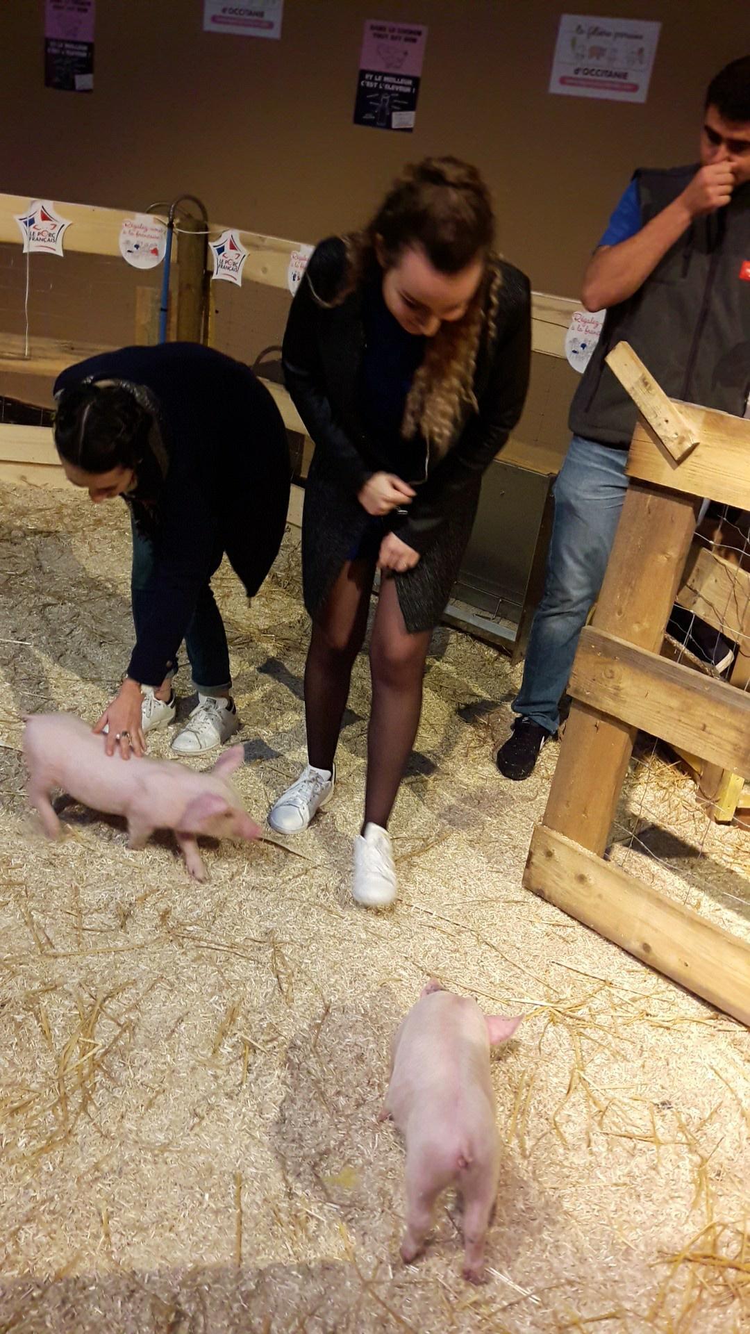 Visite salon Regal bts diététique Toulouse